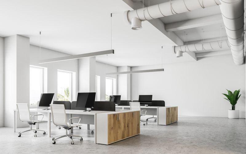 Przestronne biuro