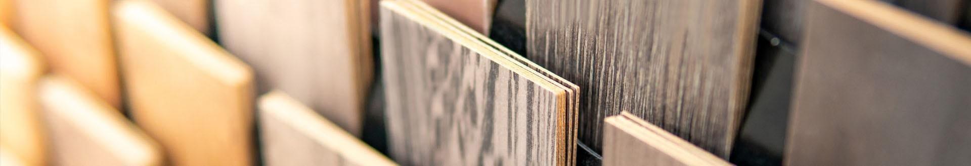 Drewniane próbki