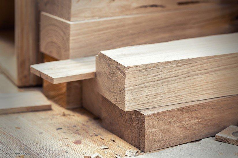 materiały drewniane